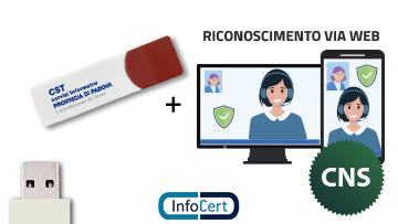 Business Key InfoCert CNS con Video Riconoscimento