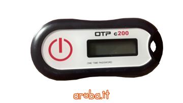 Firma Digitale Remota Aruba - OTP Display