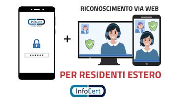 Firma Remota Estero con Riconoscimento Web