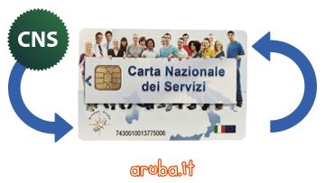 Rinnovo Smart Card CNS Aruba