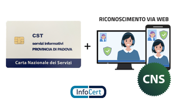 Smart Card CNS InfoCert con Video Riconoscimento